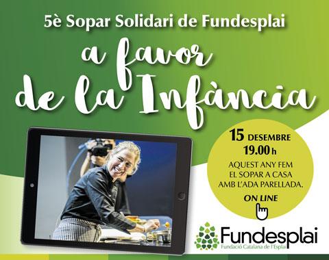 Sopar solidari de Fundesplai